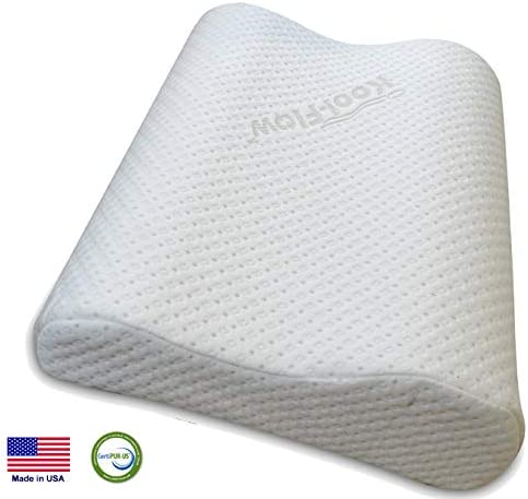 Extra Dense Memory Foam Cervical Pillow for Firm Neck Support CertiPUR–US