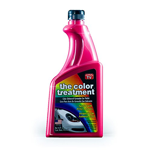 The Treatment 51016 Red Carnauba Color Wax, 16 oz, 1 (Red Car Wax)