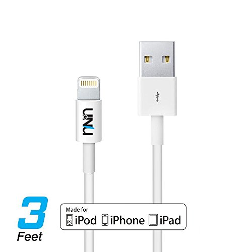 Lightning Cable for iPhone X / 8 /8 Plus/ 7/7 Plus /6 /6 Plus/5s - Silver