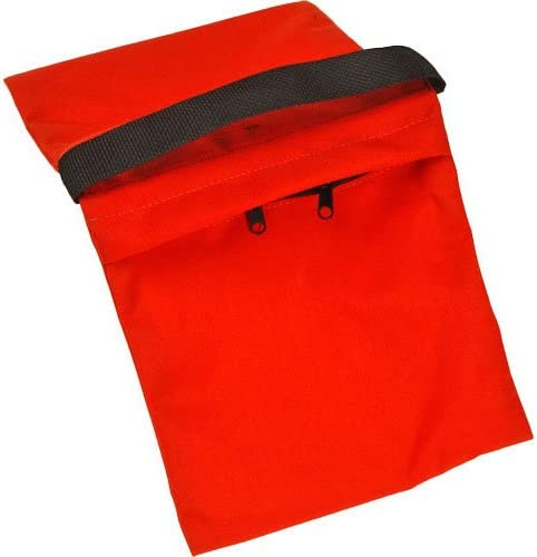 3 Pack Orange Cordura 18 lb Impact Empty Saddle Sandbag