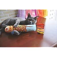 Katzenminze Katzenspielzeug,MAMACHU Katzen Interaktives Spielzeug Katzen kratzer Cat Toy mit Catnip für Indoor-Kätzchen