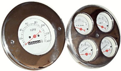 51 chevy truck gauges - 2