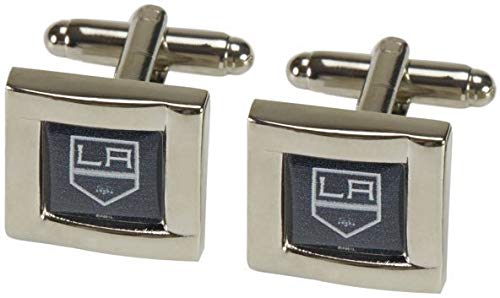 - NHL Los Angeles Kings Square Cuff LinksSquare Cuff Links, Team Color, 4