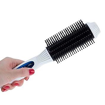 Amazon.com : Professional Electric Rotating Brush Hair Straightener Comb Roller Escova Alisadora De Cabelo Km-8110 : Beauty