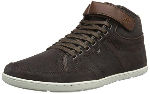 veg Marrone Boxfresh Sneaker Swich braun Uomo Wxd Brown dk Brown Blok Uh Sde lea Alte BOBqSz