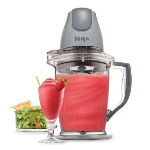 Ninja Master Prep Food Processor Qb900b Blender Mixer Pitcher W Chopper Lid New!#BH4151Y G154GHRED38447