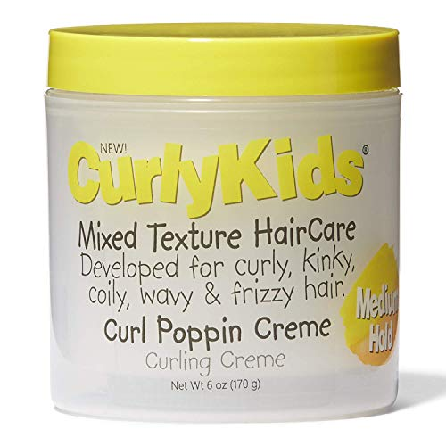 Curly Kids Curly Poppin Curling Creme, 6 Oz, 6 Ounce