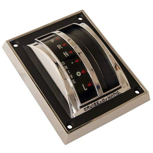 MUSTANG SCOTT DRAKE AUTOMATIC SHIFTER BEZEL COVER SHOW QUALITY 1965-1966