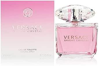 Versace Bright Crystal Eau de Toilette Spray for Her, 200ml