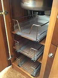 Jago cassetto telescopico estraibile ripiano per mobili cucina 40 cm casa e cucina - Amazon mobili cucina ...