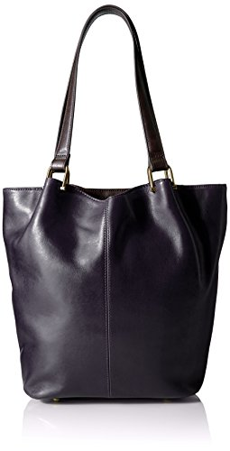 tignanello-classic-equestrian-tote-navy-dark-brown