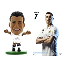 CRISTIANO RONALDO REAL MADRID WALL POSTER & SOCCERSTARZ MINI FIGURE! OFFICIALLY LICENSED