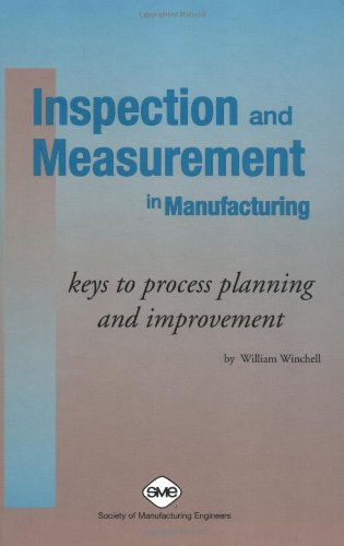 Inspection and Measurement in Manufacturing: Keys to Process Planning and Improvement