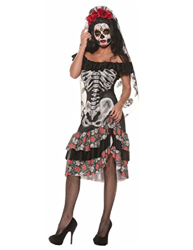 Underwraps Queen Of The Dead Large multi-colored Large -
