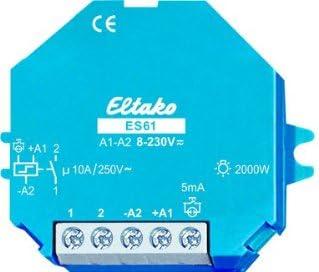 Eltako 2000559 Stromstoss Schalter Es61 Uc Blau Weiß Baumarkt