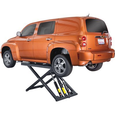- BendPak Portable Mid-Rise Scissor Lift - 6,000lb. Capacity, Model# MD-6XP ()