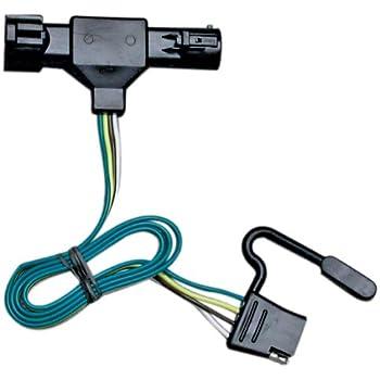 41SSr38DV L._SL500_AC_SS350_ amazon com curt 55325 custom wiring harness automotive Curt 7 Pin Wiring Harness at bayanpartner.co