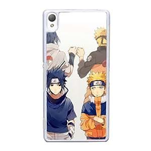 Naruto Q1W6Ek Funda Sony Xperia Z3 funda la caja del teléfono celular blanco P2C4YR funda caja del teléfono personalizada