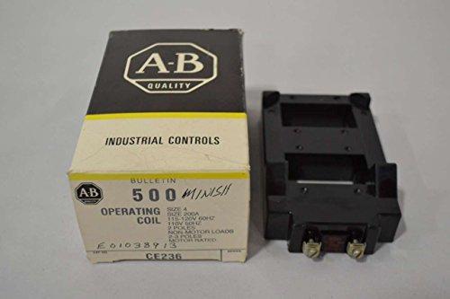 NEW ALLEN BRADLEY CE236 OPERATING COIL SIZE 4 120V-AC MOTOR STARTER D368091