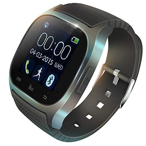 KawKaw M26 Fitness Smartwatch Wasserdicht mit Alarm und Schrittzähler – Fitnesstracker, Laufuhr oder Sportuhr für Damen…