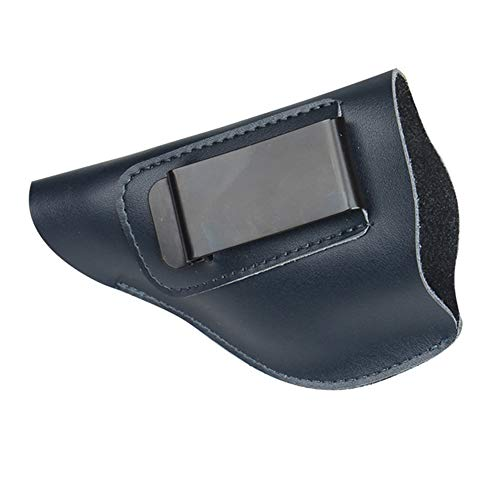 Jumpplay Concealed Carry Gun Holster Carry Inside or Outside The Waistband for Right and Left Hand Draw Fits Subcompact to Large Handguns Universal Pistol Holster Clip Case for Glock 17 19 22 23 43