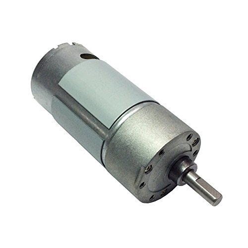 Bemonoc small 12v dc 100 rpm spur high torque gear box for Small dc electric motors