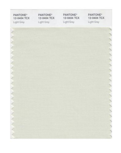 PANTONE SMART 12-0404X Color Swatch Card, Light Gray
