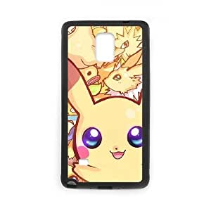 Samsung Galaxy Note4 2D Custom Hard Back Durable Phone Case with Pikachu Image