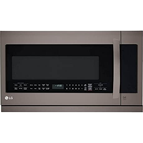 LG LMHM2237BD Diamond Collection 2 2 Cu Ft Over The Range Microwave Oven