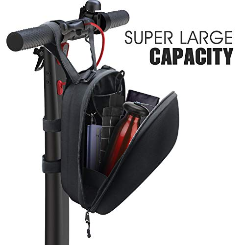 Gyroor Electric Scooter Bag, Waterproof Storage Scooter Bag Durable Multi-Purpose Bike Handlebar Bag Adults Bike Saddle Bag Scooter Head Handle Bag Scooter Accessories