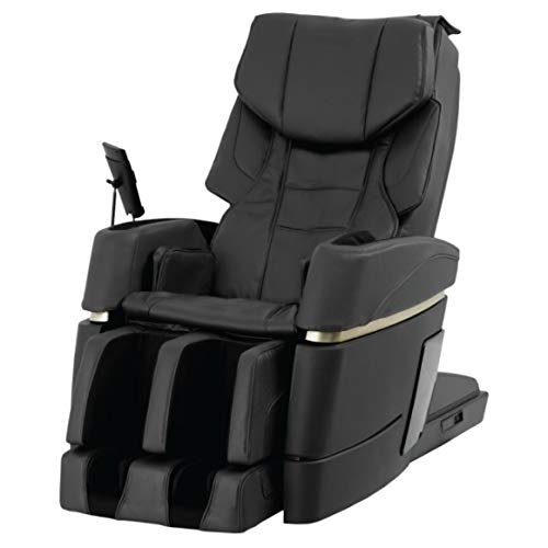 (Osaki OS - Kiwami Electric Full Body Massage Chair, Made in Japan, 4D Massage, Heat on Back and Foot Bed Position, 3D Point Navigation System, Touch Screen Remote, (Black))