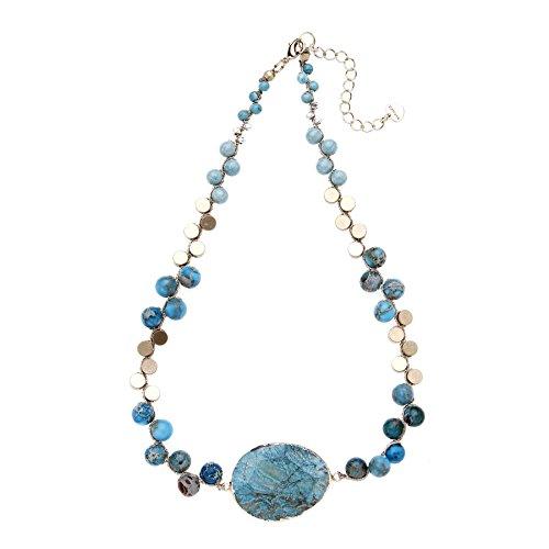 Turquoise Azalea - nakamol Azalea Turquoise Necklace