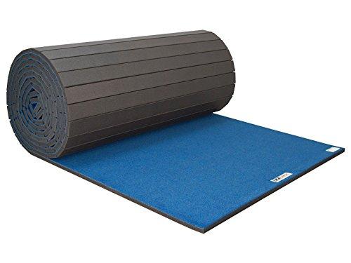 EZ Flex Sport Mats 1450125 6 x 42 x 1.37 in. Carpet Roll44; Black