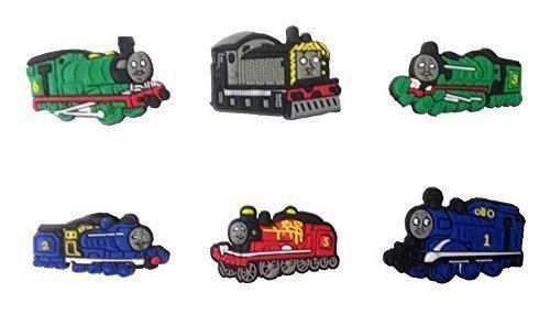 Thomas and Friends Shoe Charms 6 Pcs Set #1 by Atlantis USA