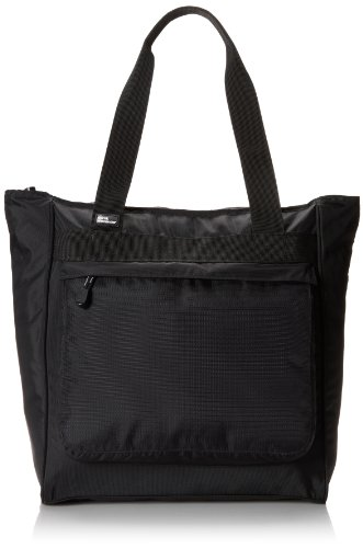 Derek Alexander Large Top Zip Shopper, Black, One Size ()
