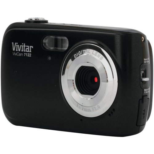 Vivitar 8.1MP Compact Digital Camera - Colors and Styles May Vary