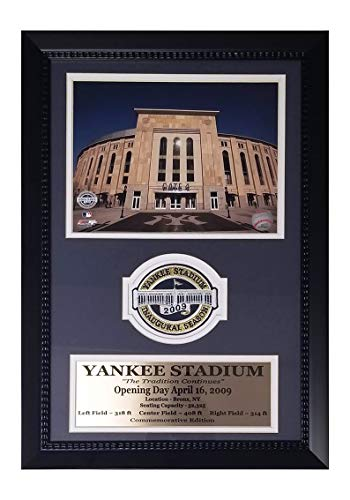 - Encore Yankee Stadium Inaugural Season 2009 Patch Framed 12