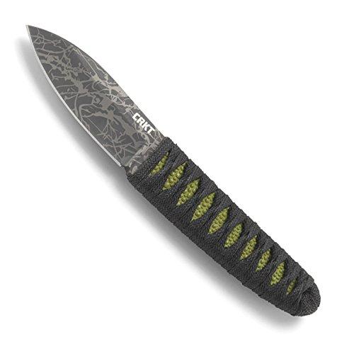 Columbia River Knife and Tool 2480 Akari Ray Skin Cord Wrapped Fixed Blade Knife