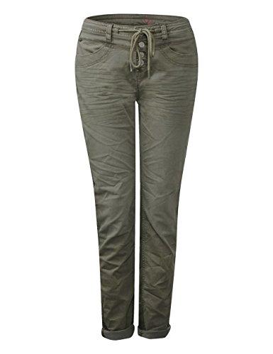 Verde Donna Slim 11314 Wash One Jeans Soil Green Street sportive wqgvI