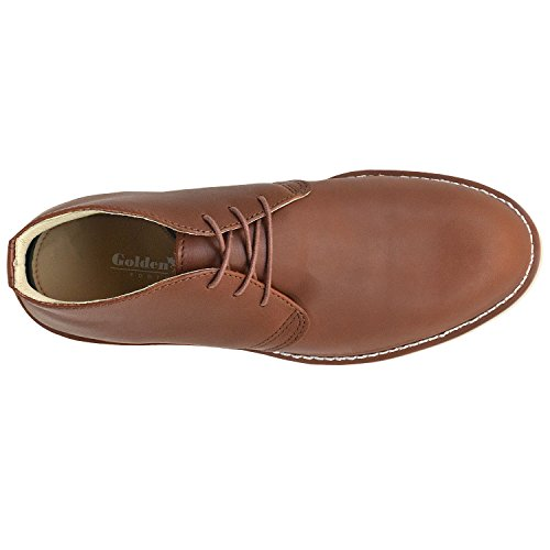 Golden Fox Enzo Men's Chukka Boot Casual Copper sale pictures free shipping affordable JL0ruC7HZ