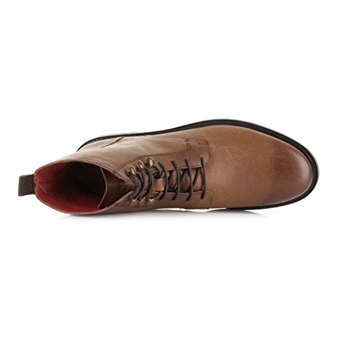 Base London Oxford Derby Brogue Range Of Mens Formal and Informal Leather Lace-UPS Black and Brown Tan-Brunel HpxYgQG
