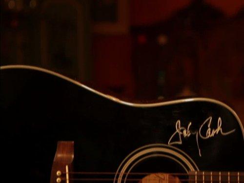 Johnny Cash Guitar/Speed Rug