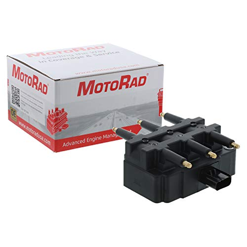 MotoRad 3IC145 Ignition Coil | Fits select Chrysler Pacifica, Town & Country; Dodge Grand Caravan, Ram 2500, Ram 3500, Viper; Jeep Wrangler; Volkswagen Routan