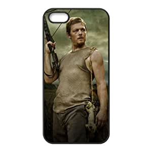 Norman Reedus Daryl Dixon The Walking Dead Design Best TPU Case For Iphone 5 iphone5-82906