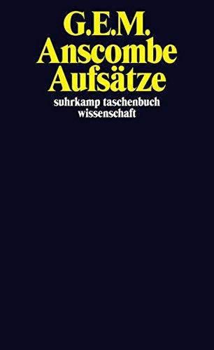 Aufsätze (suhrkamp taschenbuch wissenschaft)