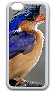 Cute Bird Animal Case for iPhone 6 TPU White by Cases & Mousepads