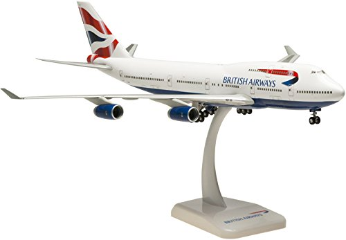 Hogan British Airways 747-400 1/200 W/GEAR (British Airways Boeing 747)