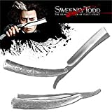 Huge 10.5 inch Sweeney Todd Replica Straight Razor Knife, Outdoor Stuffs