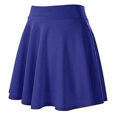 JIANLANPTT Women High Waist Pleated Skirt Summer Short Skirt for Girls