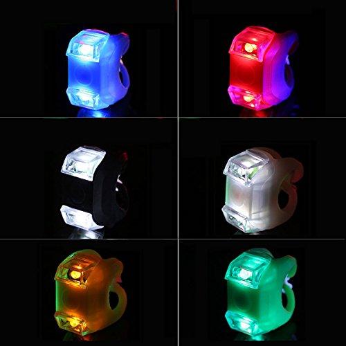 4ea43dcfc40c19 Jiele lumineux Coque en silicone pour vélo Grenouille lumière LED avant et  arrière de sécurité avertissement lampe Ultra Large Faisceau lumineux Vélo  de ...